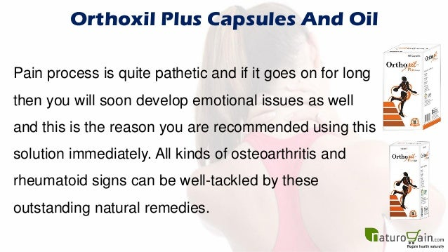 All Natural Remedies For Osteoarthritis