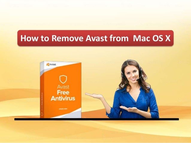 How to Remove Avast from MAC OS X?