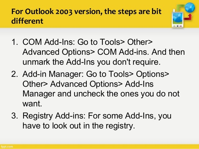 How To Remove Avast Outlook Plug-in?