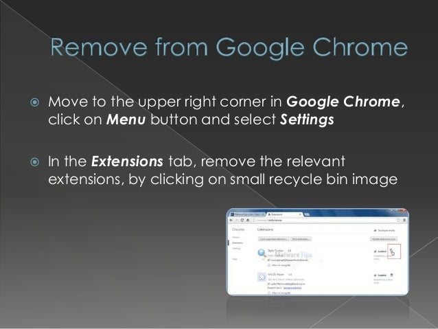 how to remove delta search toolbar from chrome