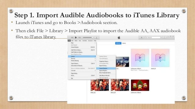 how to download audio from audible