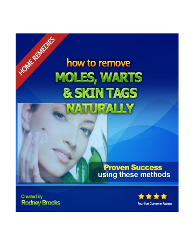 How To Remove Skin Moles Naturally At Home