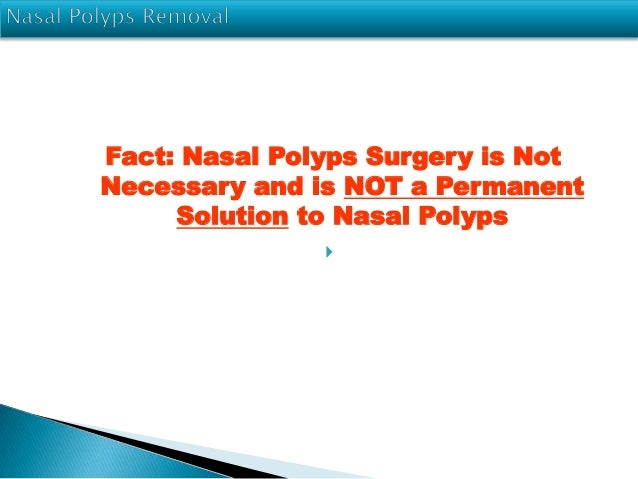Get Rid Of Polyps Naturally