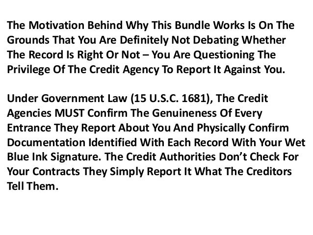 How to remove negative items from credit report yourself,  how can i find out my credit score Slide 3