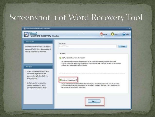 decrypt word document online