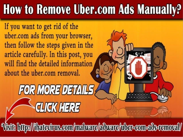 how to remove malware manually