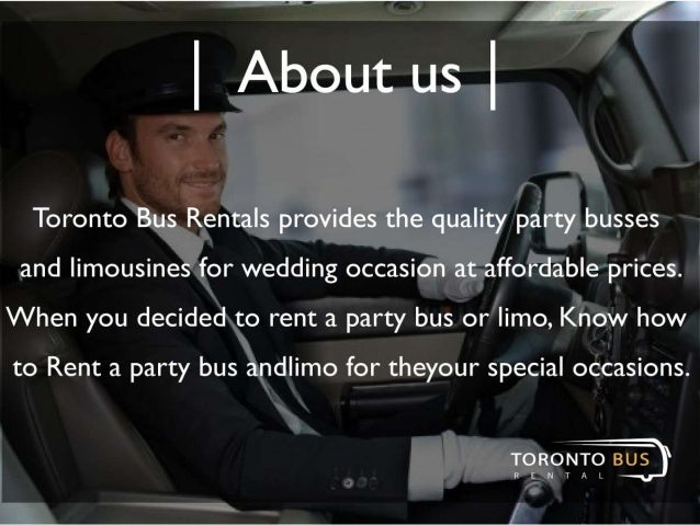 How To Rent a Party Bus and Limo For Any Occasion Slide 2
