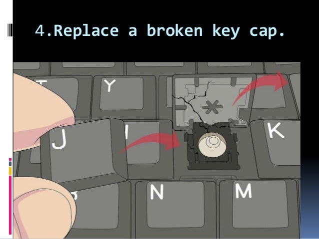 How to repair dell laptop keyboard keys