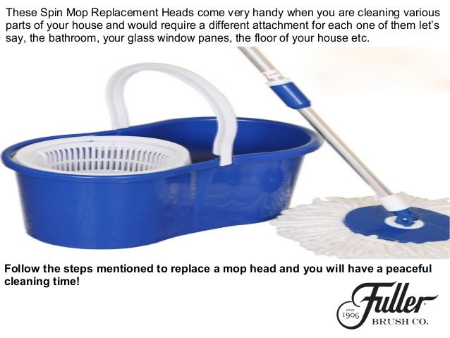 How To Replace Spin Mop Heads