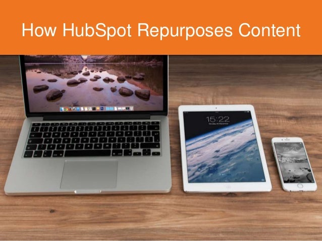 How HubSpot Repurposes Content