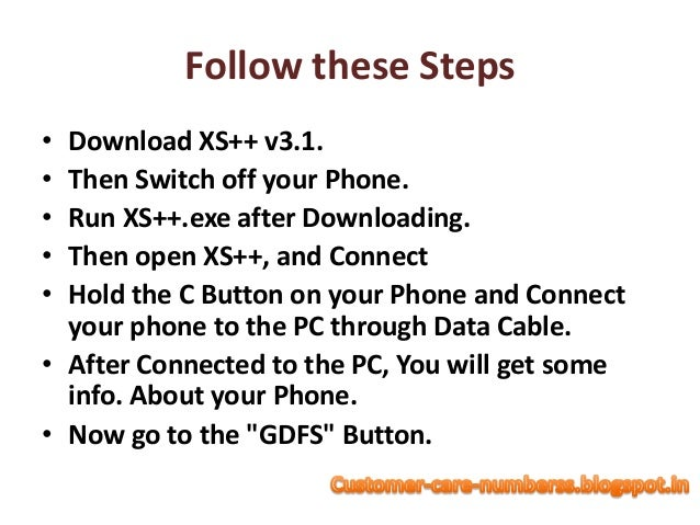 How To Reset Code Of Sony Mobile Through Customer Care