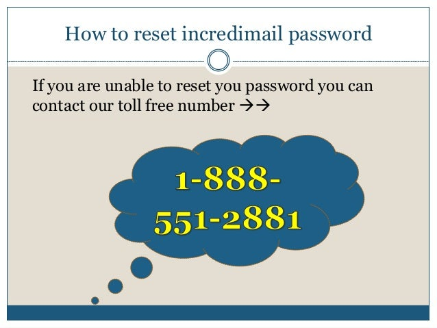 how to see password in incredimail