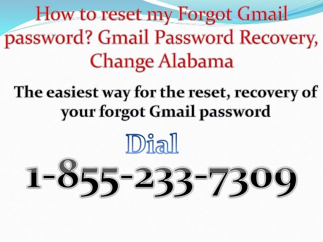 i forgot my password to my gmail how do i get it
