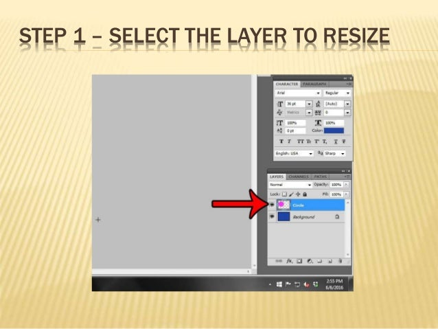 resize layer photoshop cs6 mac