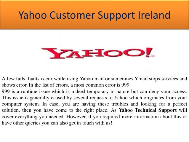 Yahoo error 999