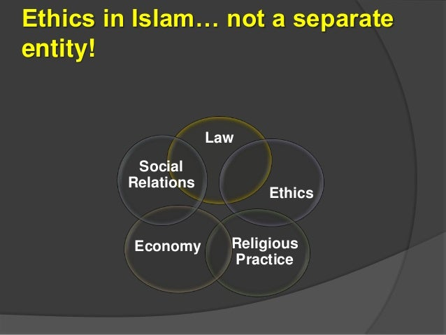 ethical teachings of islam in relation Here we furnish some basic moral teachings of islam for various aspects of a  muslim's life  in a widening circle of relationship, then, our first obligation is to  our.