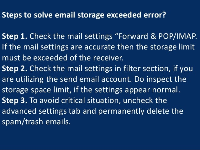 How To Resolve Gmail Storage Quota Exceeded Problem