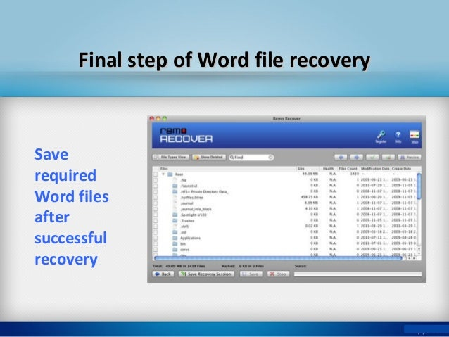 How To Restore Deleted Microsoft Word Documents On Mac