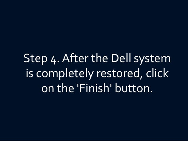 How to restore your dell inspiron 1501 (2017) to factory