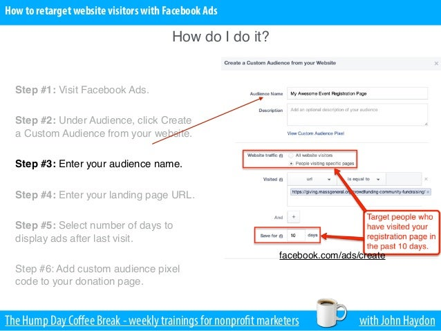 how to add facebook pixel to mailchimp landing page