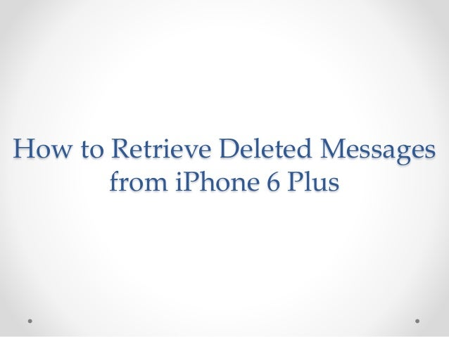 how to delete messages from iphone 6