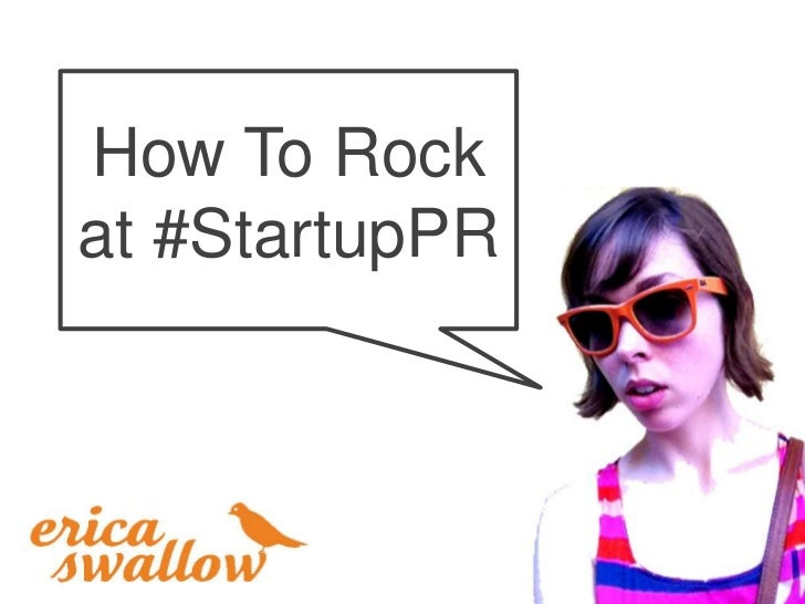 How To Rockat #StartupPR