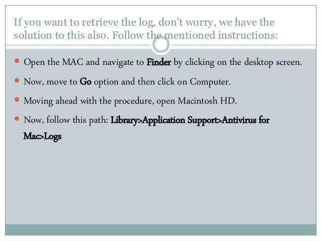 avast logs mac