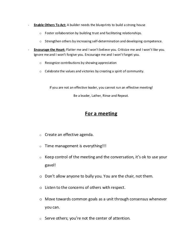 How to run an effective meeting through effective leadership Slide 2
