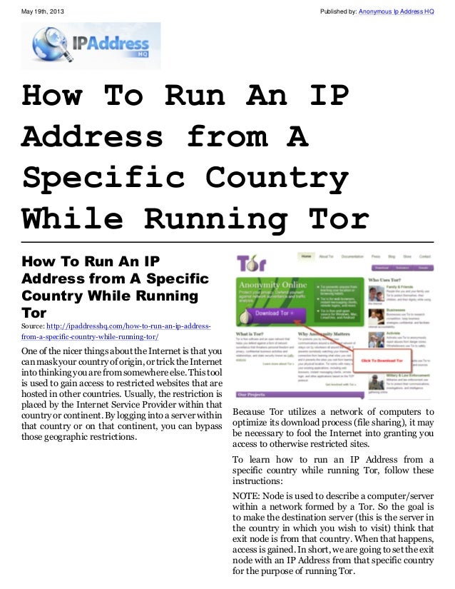 how to change ip in tor