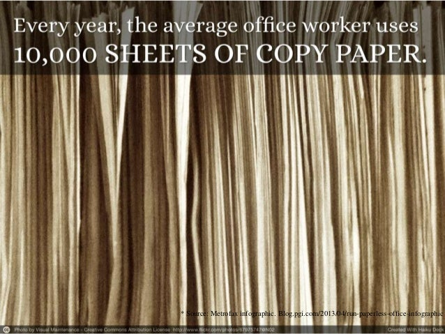 How to Run a Paperless Office   Green Business Practices