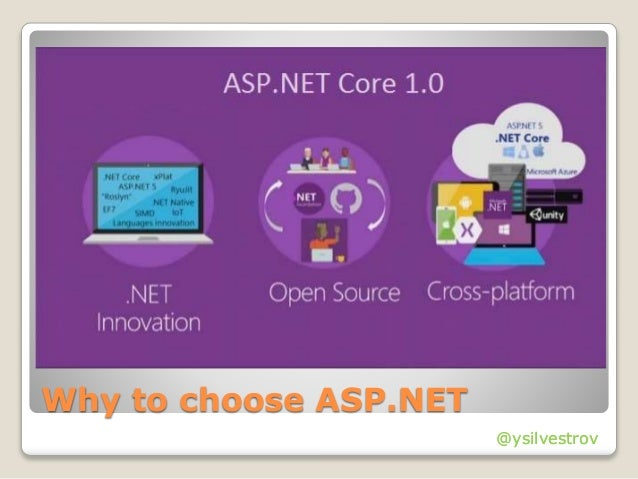 @ysilvestrov Why to choose ASP.NET @ysilvestrov