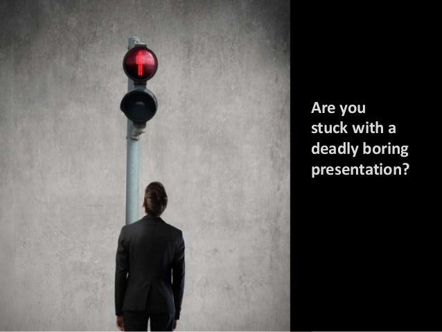 How to Save a Lifeless Presentation Slide 2