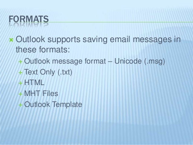 email template outlook 2013