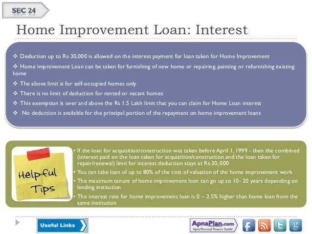 Home improvement loan tax deductible 28 images home for Tax deduction for home improvements