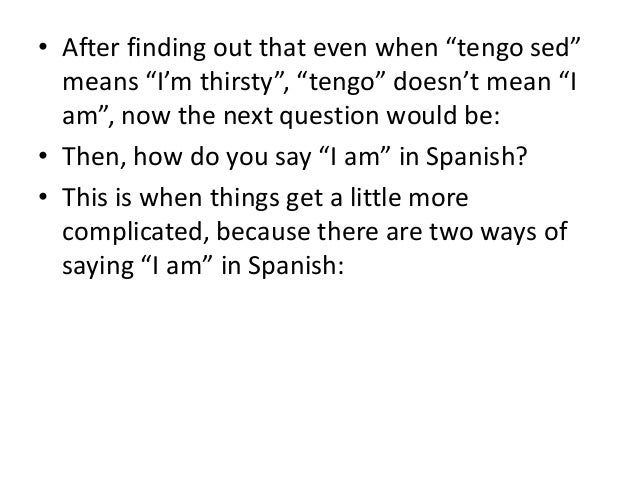 How do you get there in spanish
