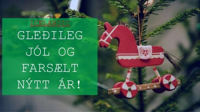 icelandic gleileg jl og farslt ntt r - Merry Christmas In Icelandic