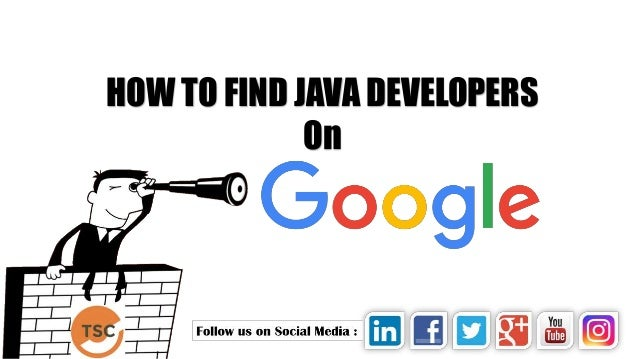how to find resumes on google boolean search image search java d