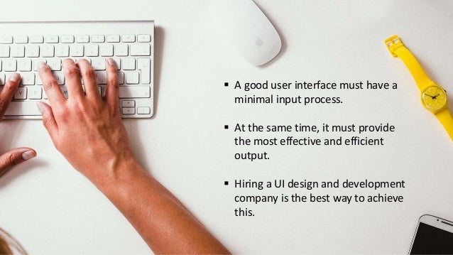 How to Search for the Best UI Design and Development Company Slide 2