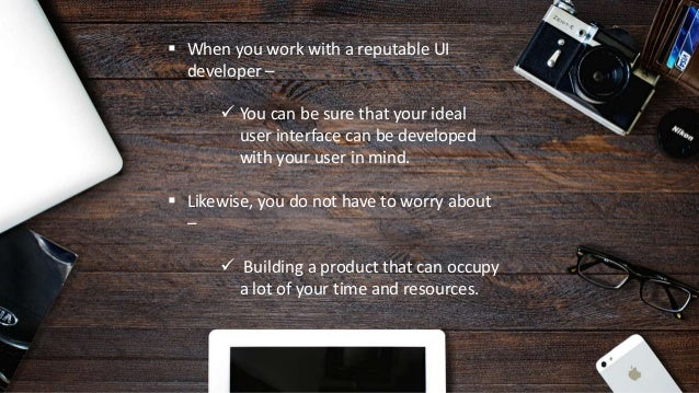 How to Search for the Best UI Design and Development Company Slide 3