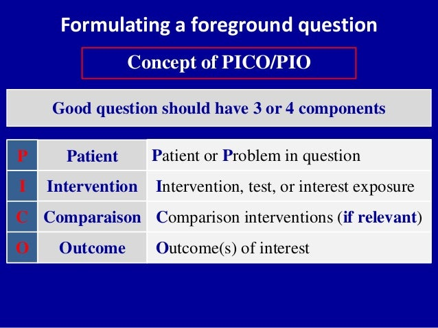 pico questions for patient with ulcer Preventing hospital readmissions for congestive heart failure  creates a huge impact on the healthcare system as well as on the patient  answered questions.