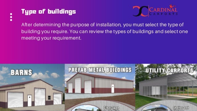 How To Select And Build Reliable Metal Building