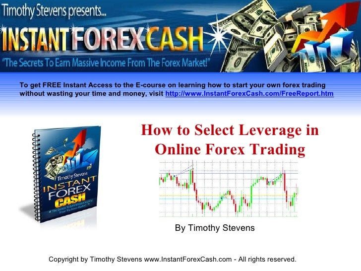 How to use leverage in forex trading