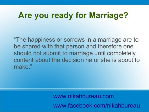 How To Select Muslim Husband Or Wife?