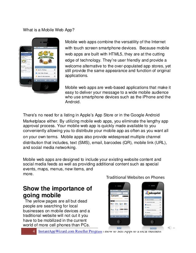 Mobile Marketing - How to Market Mobile Web Apps to Businesses