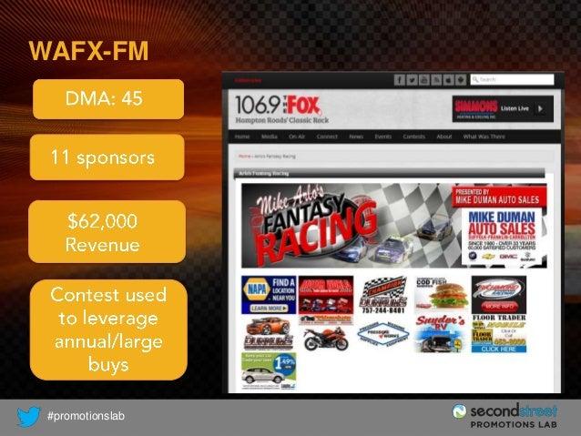 WAFX-FM  #promotionslab
