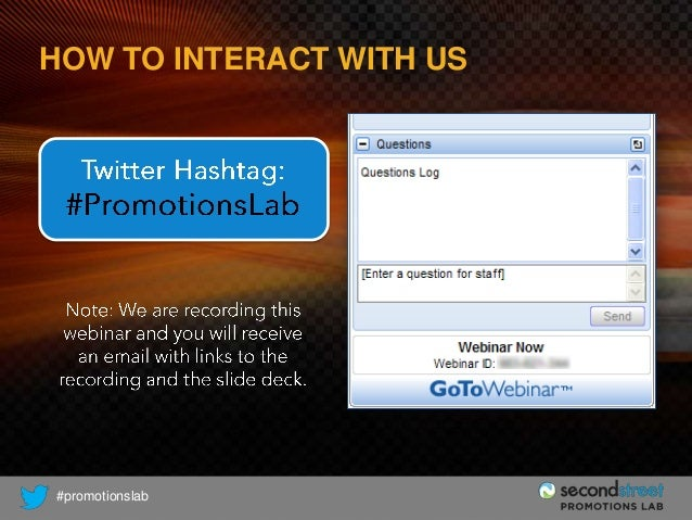 HOW TO INTERACT WITH US  #promotionslab
