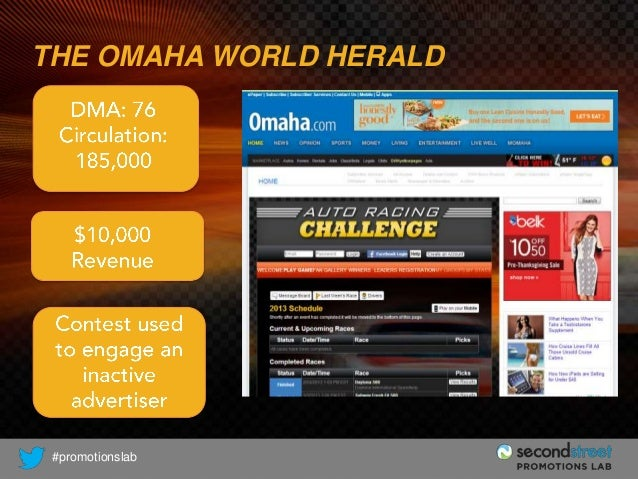 THE OMAHA WORLD HERALD  #promotionslab