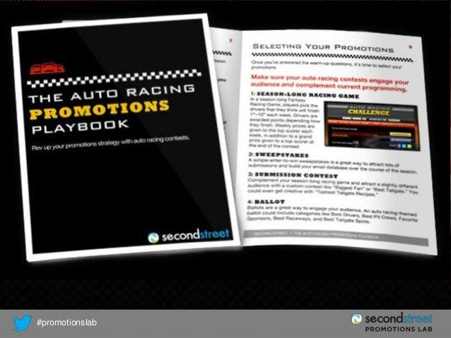 AUTO RACING PLAYBOOK  #promotionslab