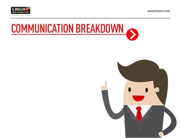 www.linuxit.com COMMUNICATIONBREAKDOWN