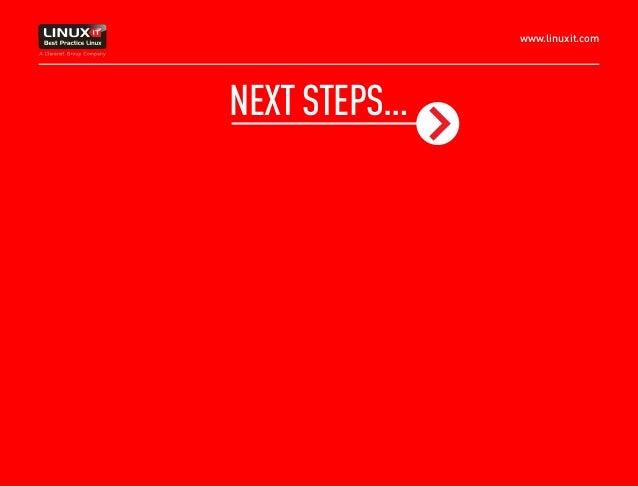 www.linuxit.com NEXTSTEPS…